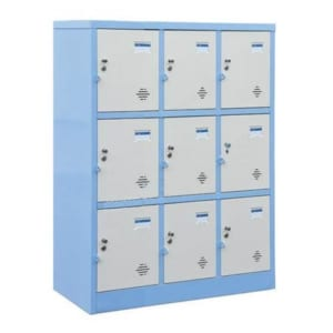 hình ảnh tủ locker 9 ngăn