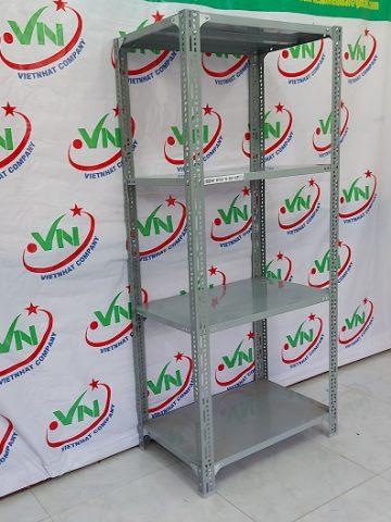 Kệ sắt v lỗ đa năng cao 2m - rộng 60 - dài 100 - 4 tầng mâm